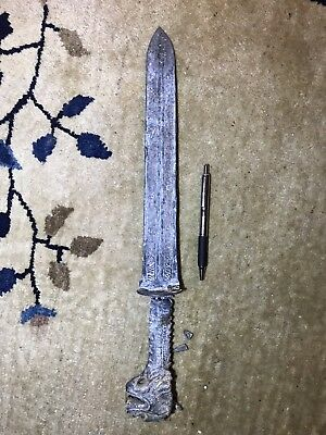 Ancient Chinese Short Sword Dagger Knife  B.C. Possibly Shang Dyn Bronze???