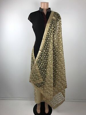 $9.99 Retail $49 Original Work Indian Wedding Reception Dupatta Punjabi Scarf