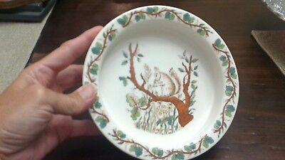 Tiffany & Co Squirrel Porcelain Bowl Children's Set Replacement Johnson Brothers