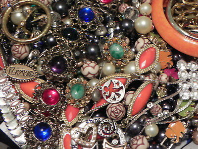 Estate Sale Lot of Vintage to Modern Jewelry, #777 Some Signed