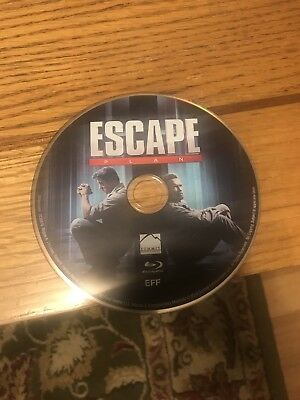 Escape Plan Blu-ray Only