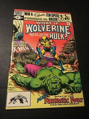 What If? #31 (Feb 1982 Marvel) Death Of Hulk Nm!!!!