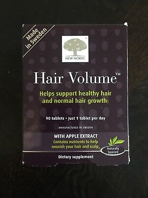 Nordic Hair Volume With Apple Extract, 90 tablets New