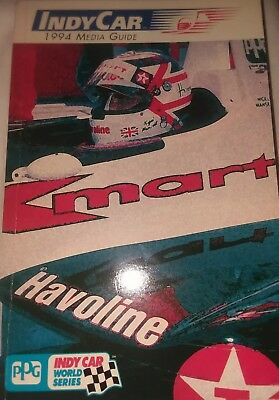 1994 INDY CAR World Series PPG MEDIA Stats Record Drivers Info