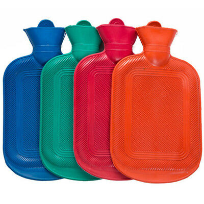 Winter home portable hot water bottle bag warm thick rubber relaxing heat *tr