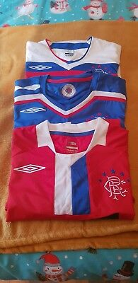 Glasgow rangers football shirt