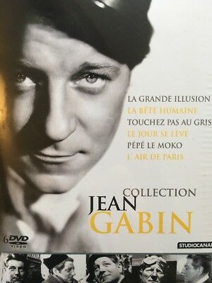 Coffret 6 DVD Collection Jean GABIN
