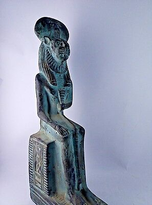 ANCIENT EGYPTIAN ANTIQUE SEKHMENT Statue 1765-1593 BC