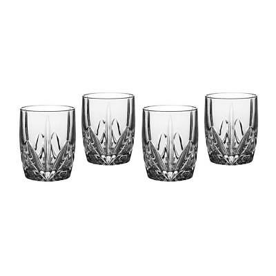 Marquis By Waterford Brookside Double Old Fashioned Glass Tumbler Set/4 151681