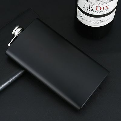 Mini Stainless Steel Flask Alcohol Outdoor Portable Wine Hip 12oz Black Flasks