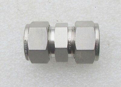 "Swagelok  3/4""  Stainless Steel Fitting Union SS-1210-6   Several Avail New"