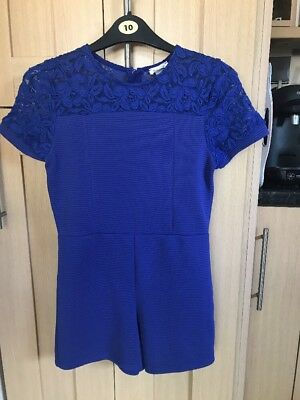 River Island Girls Playsuit Age 11-12 Years Exc Cond