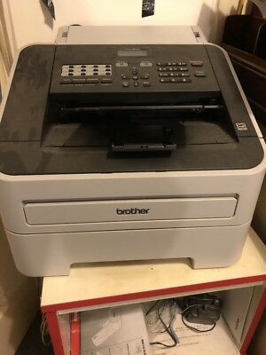 Used Brother Fax-2840 A4 Mono Laser Fax Machine