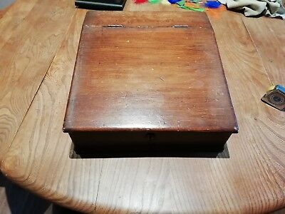 Antique/vintage Wooden Box or writing slope.