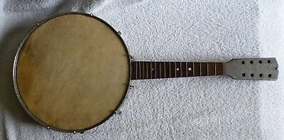 Antique Banjo Ukulele – Banjolele - German Made – Restoration piece