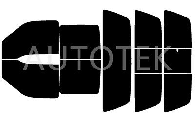 PreCut All Sides Window Film Any Tint Shade % for Ford F250 Crew Cab 1999-2007