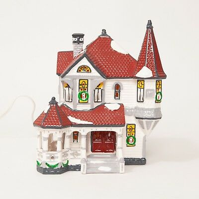 Department 56 The Original Snow Village Queen Anne Victorian 5157-8