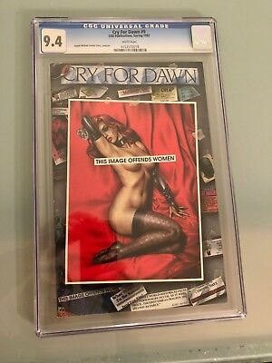 Cry for Dawn Issue  9 Comic CGC 9.4 NM  Lisner CFD Productions Monroe 1992