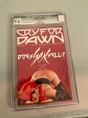 Cry for Dawn Issue  5 Comic CGC 9.6 NM SIGNED BY LISNER