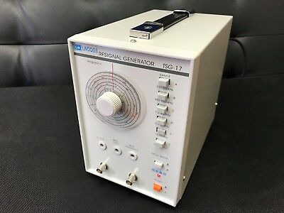 TSG-17 High Frequency Signal Generator RF Radio Frequency 100KHz-150MHz