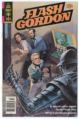 Flash Gordon #22 NM- 9.2 white pages  Gold Key  1979  No Reserve