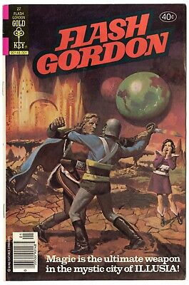 Flash Gordon #27 NM- 9.2 white pages  Gold Key  1980  No Reserve