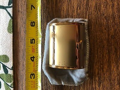 Gold Colored Compact