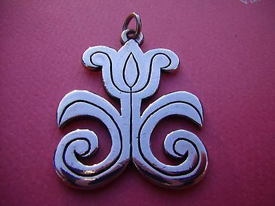 Beautiful James Avery Vintage TULIP FLOWER PENDANT Sterling Silver Retired Rare