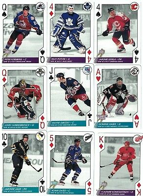 NHL Tradingcard Set – 97-98 NHL Hockey Aces – 52 Cards