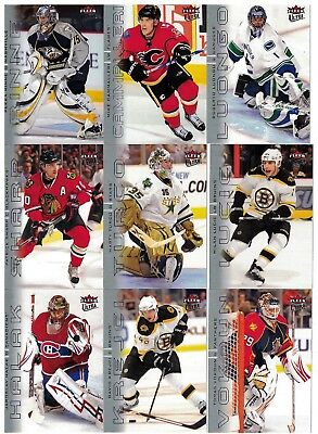NHL Tradingcard Set – 2009-10 Fleer Ultra  – 200 Cards