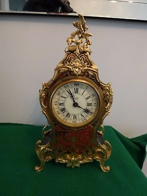 Vintage Boulle Clock by King of Bath