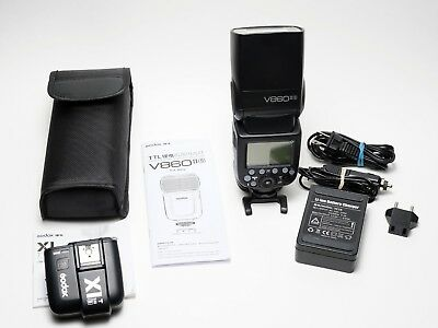 Godox VING V860IIS TTL Li-Ion Flash with X1T-S TTL Trigger Kit for Sony Cameras