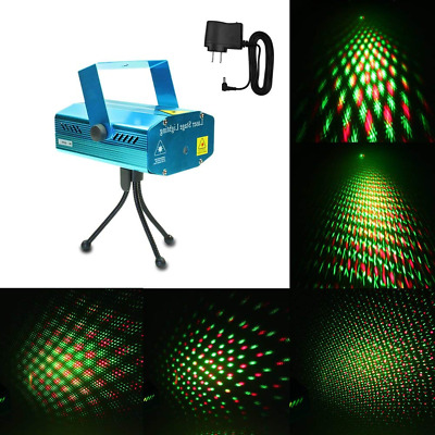 Mini LED Mixed Light Sound Music Active Auto Flash Projector with Tripod NEW