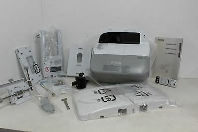 BNIB EPSON EB-480 Multimedia H485B Bright Short Throw 3000-Lumen Projector Kit