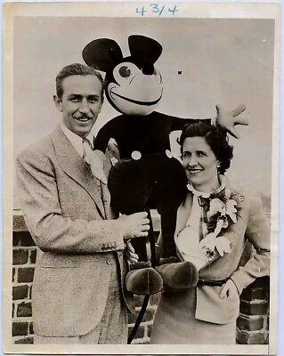 1935 Walt Disney Type 1 original photo