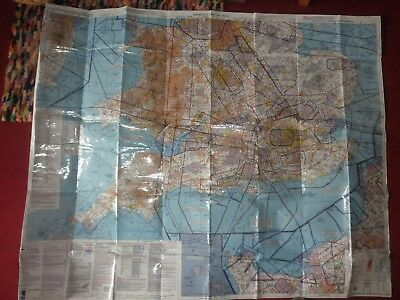Aeronautical chart for Southern England and Wales (ICAO 2016 edition)