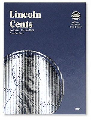 Official Whitman Coin Folder: Lincoln Cents, 1941-1974 Vol. 2 (1990, Hardcover)