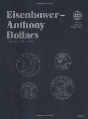 Official Whitman Coin Folder: Coin Folders Dollars : Eisenhower-Anthony by...
