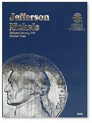Official Whitman Coin Folder: Jefferson Nickels : Collection Starting 1996...