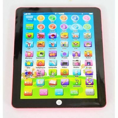 NEW Kids Children TABLET PAD Educational Learning Toy Gift Boys Girls Baby early