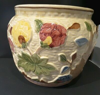 Indian Tree PLANTER by Wood Potters Of Burslem