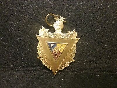 Fraternal Order Knights Of Pythias Pendant