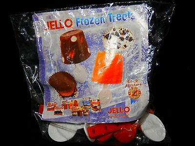 Jell-o 6 Pc Frozen Pop Set w/ Recipe Brand New In Package - Free Shipping