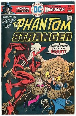 Phantom Stranger #40 VF/NM 9.0 ow/white pages  Deadman  DC  1974  No Reserve