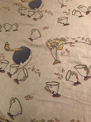 Vintage Beauty & The Beast Fitted Twin Sheet