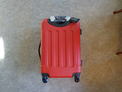 """Expandable 20"""" Abs Luggage Carry On Travel Suitcase"""