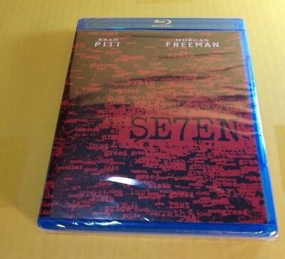 Seven (Blu-ray Disc) Brand NEW(Sealed)-Free First Class Shipping with Tracking