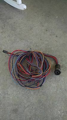 MERCRUISER 9-PIN CONNECTOR Engine Wire Harness Dash To Motor ...