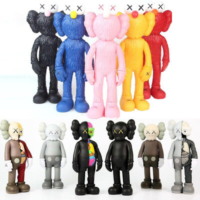 KAWS Companion Half Dissected Flayed Open Action Figure Doll Toys Kids Gifts