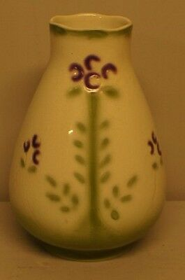 Rörstrand Art Nouveau vase in faience. Early 20th Century